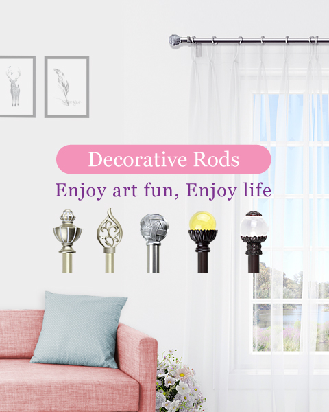 Decorative Rods